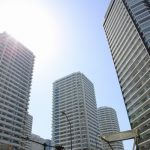 横浜のタワーマンション群